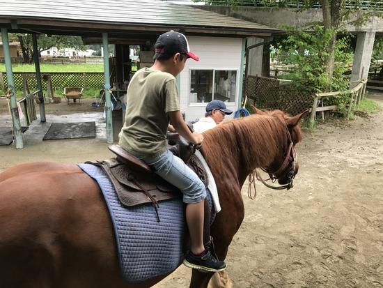 那須旅行_乗馬体験
