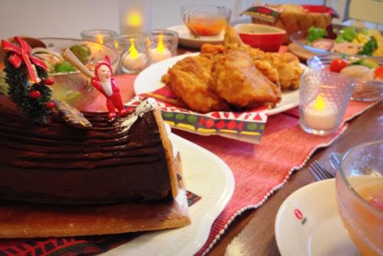 クリスマス 食卓