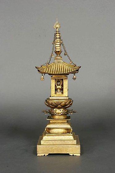 02-01:銅造鍍金舎利塔」の画像 ...