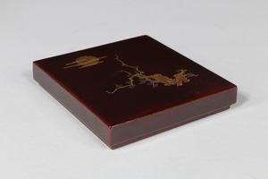 三友蒔絵小形硯箱 アフターセール対象作品