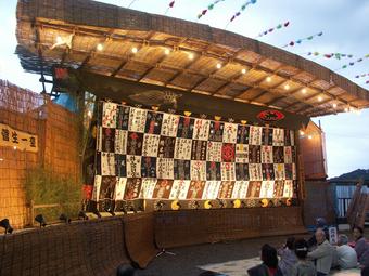菅生の組立舞台と歌舞伎1