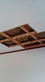 雨漏り修理後天井修理�