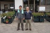 鮫島さんと鹿屋バラ園にて 6
