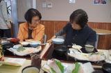 道の駅「山川」にて会食 5