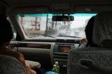 里中さんの車で雨のドライブ 4