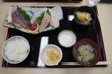 道の駅「山川」にて食べた刺身定食 6