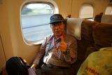 熊本駅を通過してから車掌さんからシャッターを押してもらう 7