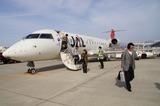 山形空港に着陸 8