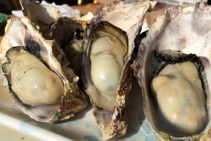 海宝の焼牡蠣