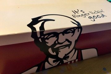 KFCのパッケージ