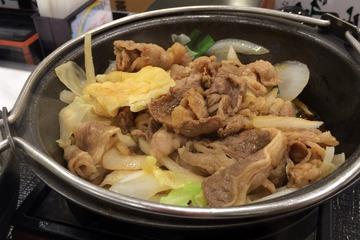 吉野家の牛バラ野菜焼(並盛)