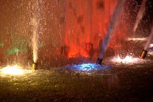 東遊園地の噴水2