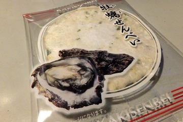 牡蠣せんべい
