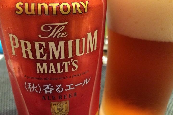 サントリービール・香るエール(秋)