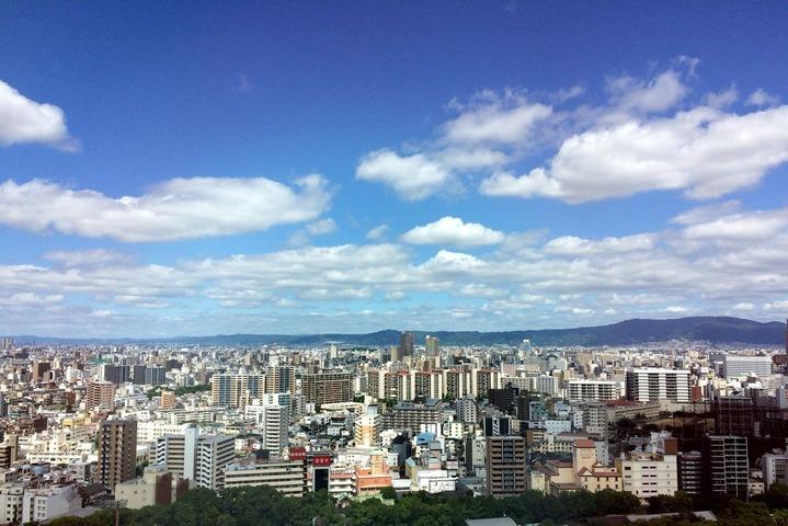 OAPタワー19階からの眺望(梅雨の晴れ間)