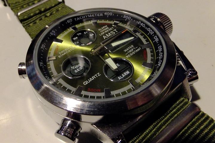 AMSTの腕時計AM3003