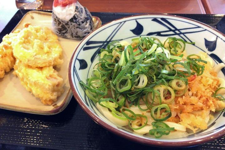 丸亀製麺でランチ