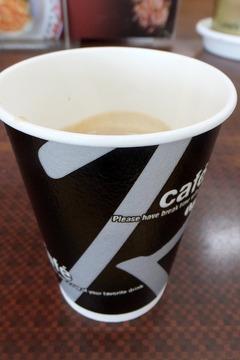 王将白川台店のコーヒー