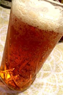 琥珀エビスークリスタルアンバーー(グラス)