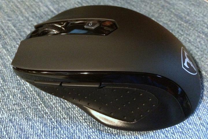 Patech 2.4Ghzワイヤレスマウス 6ボタン(ブラック)