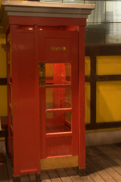 MOSAICの電話ボックス