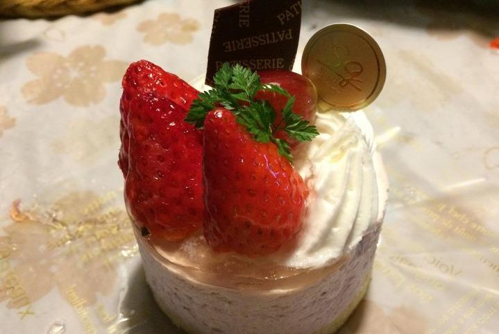 スイートガーデンのケーキ