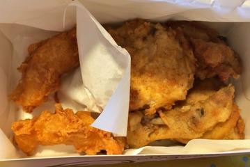 KFCのフライドチキン