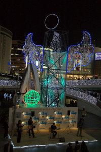 三宮駅前のライブ