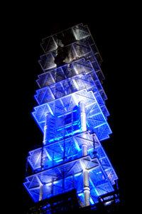 通信会社のアンテナ塔
