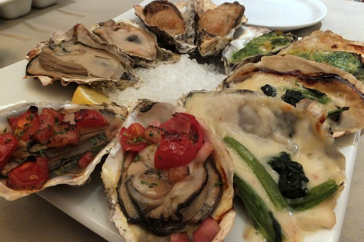 ガンボ&オイスターバーの焼き牡蠣