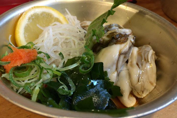 超世界の酢牡蠣