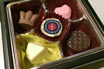ゴンチャロフのバレンタインチョコ