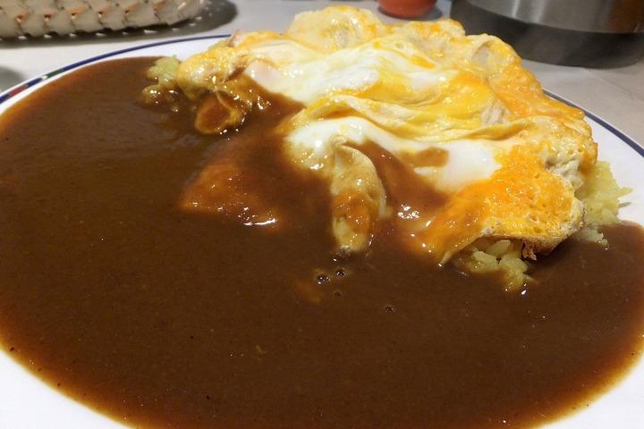 マーヤカレーのふわふわ卵カレー