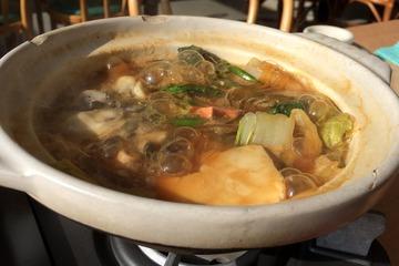 海宝の牡蠣鍋