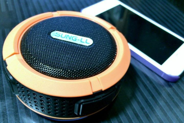 SUNG-LL ナオミチ Bluetooth ワイヤレススピーカー