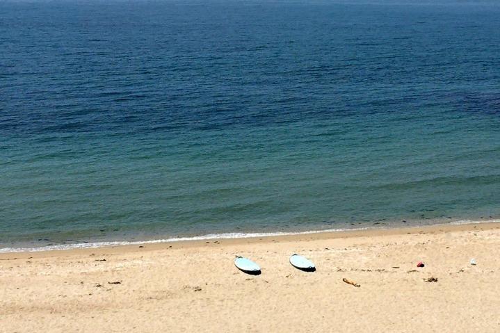 ヒポポパパ前のビーチ1