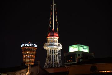 MOSAIC越しのポートタワー