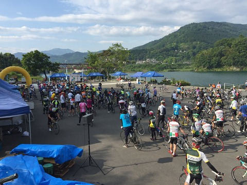 徳島県西部自転車イベント「ツール・ド・にし阿波」に参加してきた。Aコースだけど楽しかった。