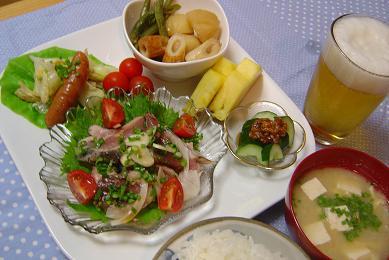 23日の晩御飯