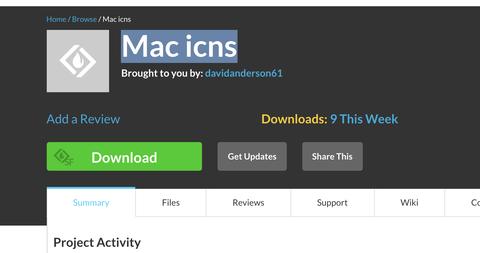 Mac isnsダウンロード