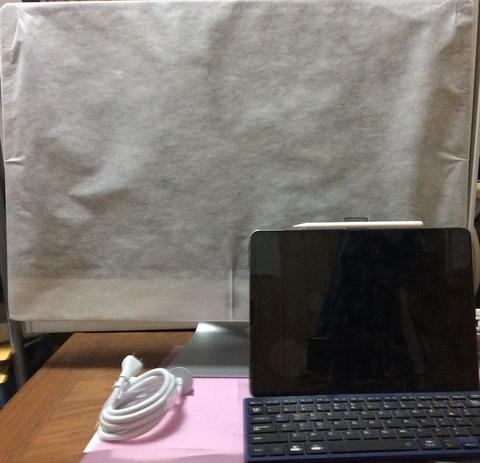 1_iMac取り出してiPad Proと比較