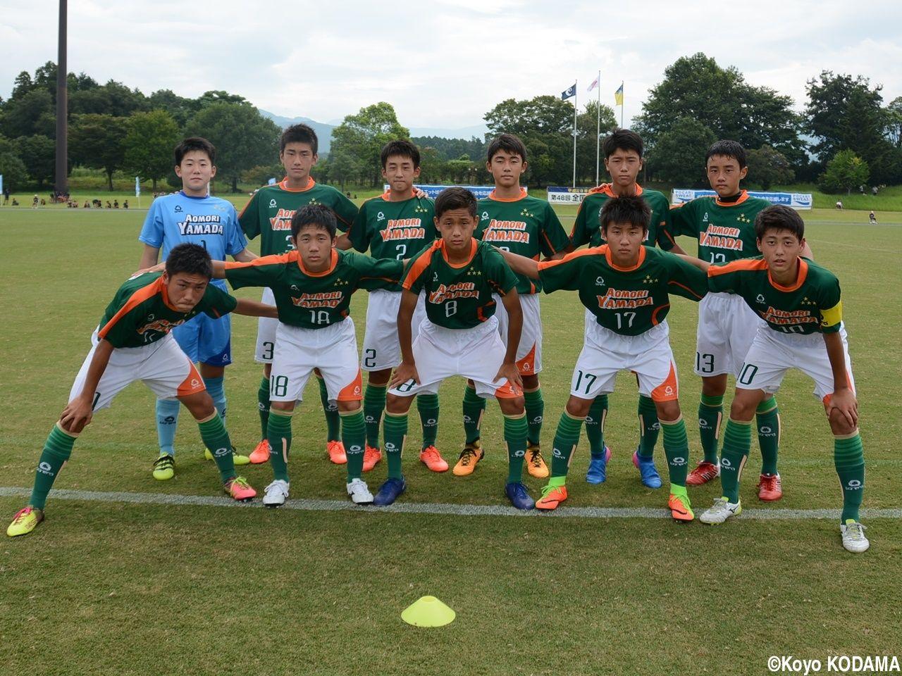 サッカー 青森 選手 山田