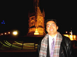 Me at the Columbus Plaza