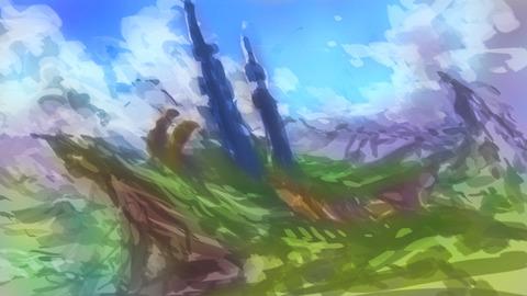 ファンタジー風景CA-01