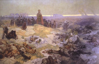 After_the_Battle_of_Grunwald_-_Alfons_Mucha