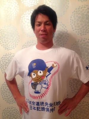 マエケン藤井秀悟Tシャツ1