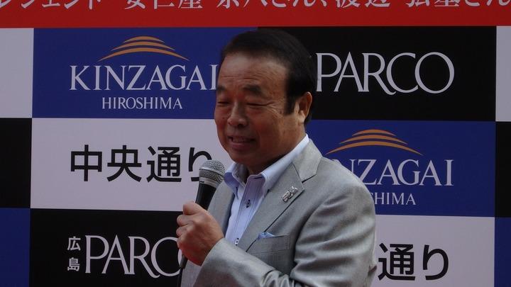 20171111カープ連覇鏡割り2
