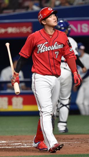 広島・堂林の厳しい現実 「守備固めで出る選手でもない」 今季44試合で0本塁打4打点
