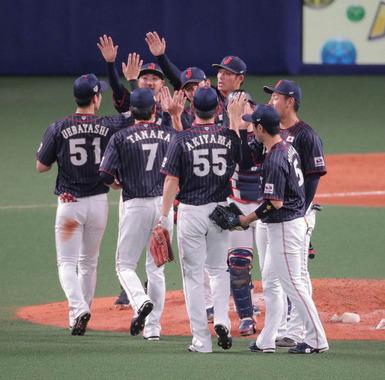 【日米野球】侍J快勝!5勝1敗で全日程を終了!カープ菊池が1安打1打点!