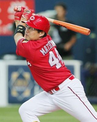 カープ松山は今年首位打者取れんかね?